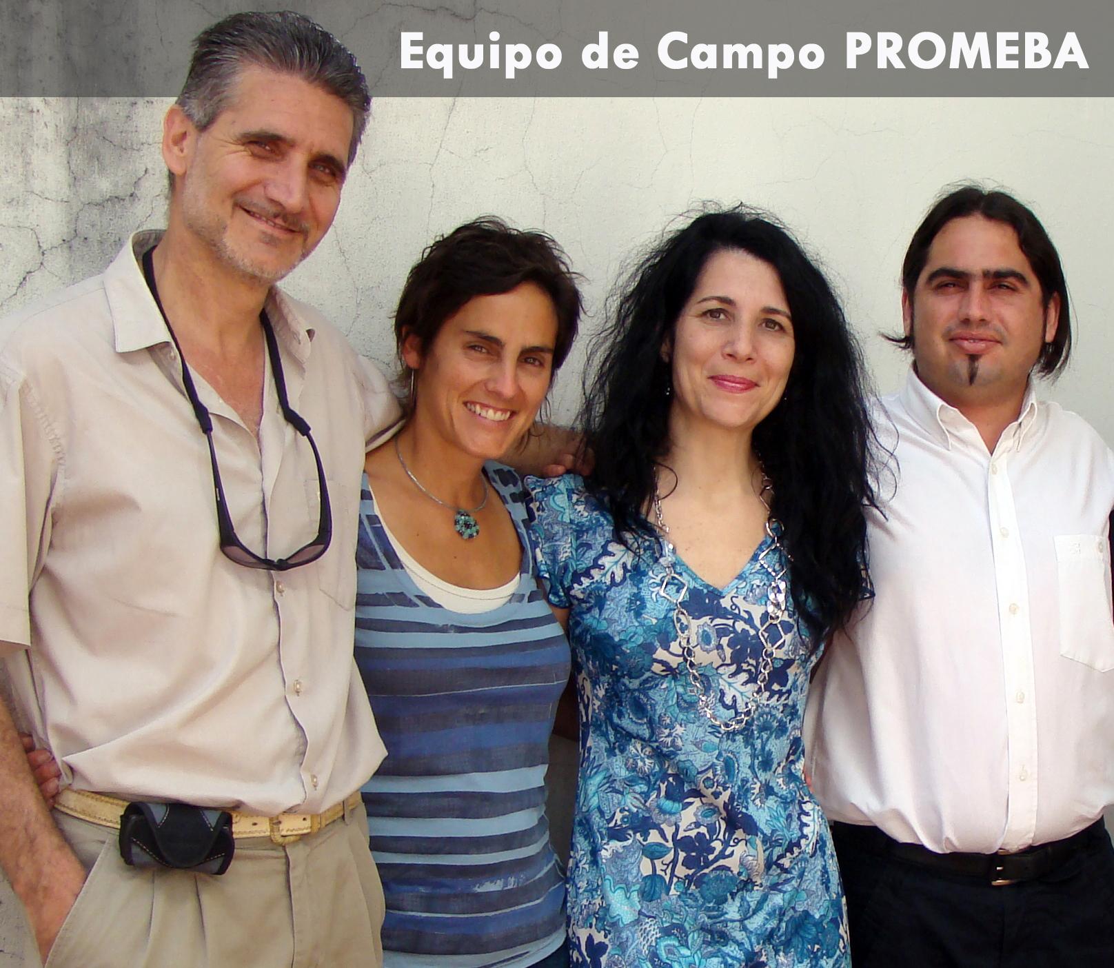 1. Equipo de Campo PROMEBA Barrio Peron